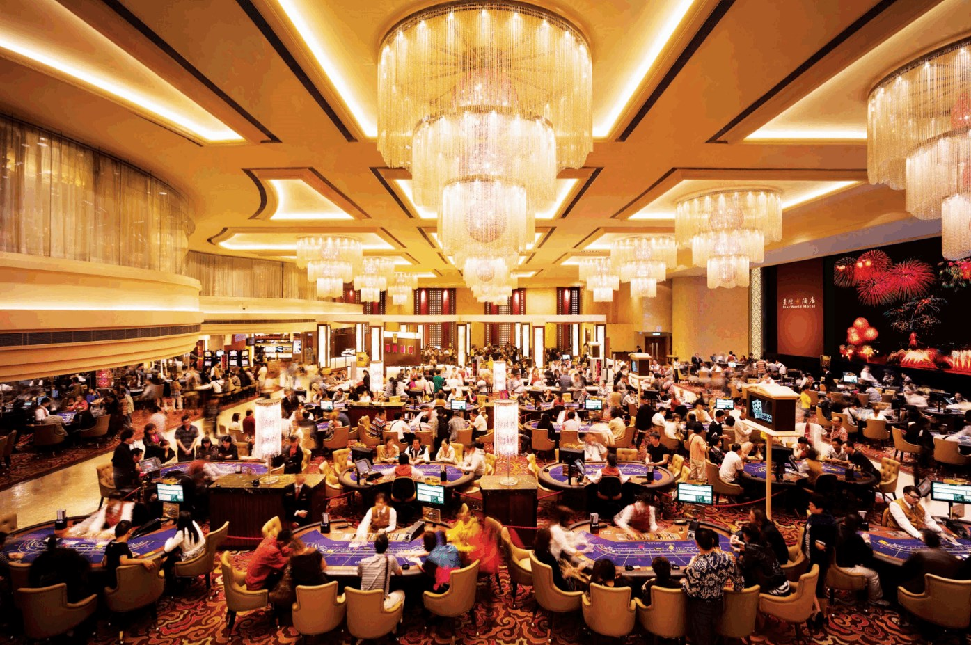 The Most Eye-catching casino in Macau – Star World Hotel