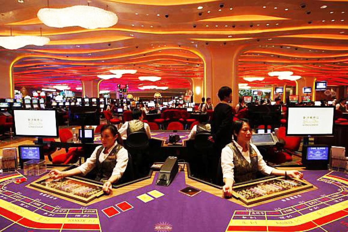 新濠天地娛樂場 - 澳門最佳的賭場酒店