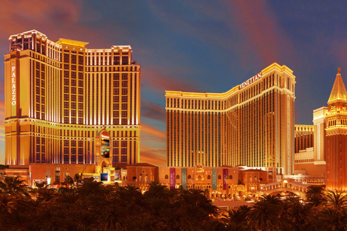 宮殿般的賭場酒店 – The Palazzo