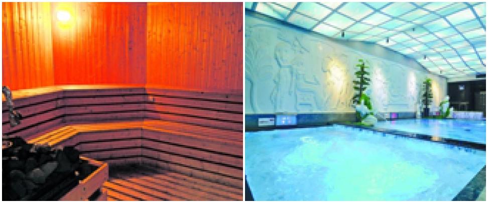 環境優化舒適寫意 - 澳門新世紀濠景芬蘭浴